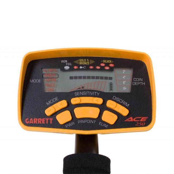 Garrett Ace 250 Dedektör Ekran