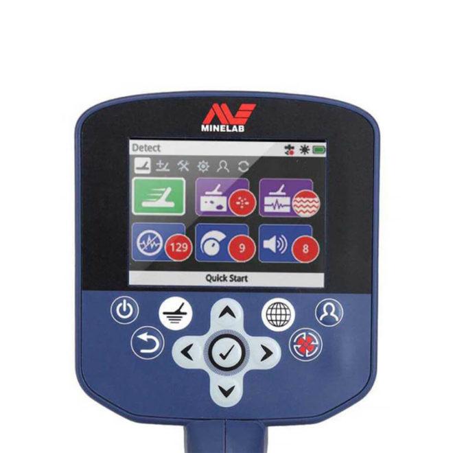 Minelab GPX 7000 Dedektör Ekran