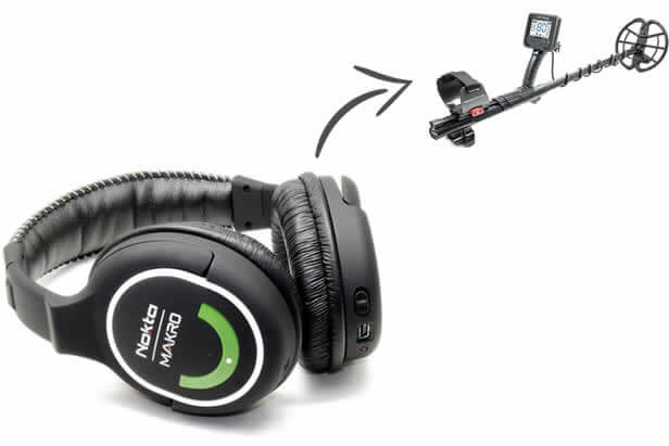 Nokta Makro Dedektör Anfibio 19 Kablosuz Kulaklık Dahil